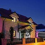 LED Projektionslampe, Lichteffekt mit Schutzart IP65 für Innen und Außen,...