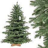 FairyTrees Weihnachtsbaum künstlich ALPENTANNE Premium, Material Mix aus Spritzguss...