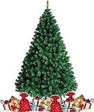 amzdeal 180cm künstlicher Weihnachtsbaum - 750 Zweige voll klappbarer Tannenbaum mit...