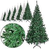 Rapid Teck® Weihnachtsbaum Künstlich 150cm (420 Äste) | Grün | Tannenbaum mit...