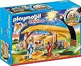 PLAYMOBIL Christmas 9494 Lichterbogen 'Weihnachtsgkrippe' mit ausklappbaren...