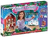 PLAYMOBIL Großer Adventskalender 70383 Weihnachten im Stadthaus, Inklusive Haus,...