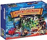 PLAYMOBIL Adventskalender 70322 Schatzsuche in der Piratenbucht, Für Kinder ab 5...