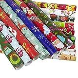 10 Stück Weihnachtsgeschenke, Geschenkpapier, Weihnachtsgeschenk,...