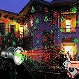 LED Projektionslampe von Colleer, 16 Lichteffekt mit Schutzart IP65 für Innen und...