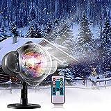 Schneefall-im Freien geführte Weihnachtslichter Projektor-Show wasserdichte...