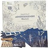 Blumen Adventskalender 2020: Nachhaltiger Garten Adventskalender mit Blumensamen –...