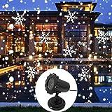 Haolv Weihnachtsfeiertags-Weiße Beleuchtungsparty Schneeflocken-LED-Stadiums-Schnee...