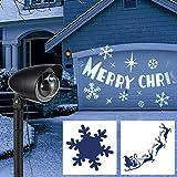LED Licht Projektor Strahler weihnachtliches Motiv Projektion Außenbeleuchtung
