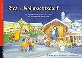 Rica im Weihnachtsdorf: Folien-Adventskalender (Adventskalender mit Geschichten für...