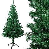 OZAVO Weihnachtsbaum künstlicher, Tannenbaum 180 cm, Christbaum in grün, inkl....