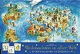 Weihnachten in aller Welt: Adventskalender mit 24 Büchern (Adventskalender mit...