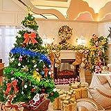 XFHLL Weihnachtsdekoration, Weihnachtsbaum Bunte Weihnachtsschmuck Und Präsentiert...