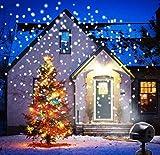 ANKOUJA Weihnachtsdeko LED Projektor Weihnachtsbeleuchtung Außen Weihnachtsprojektor...