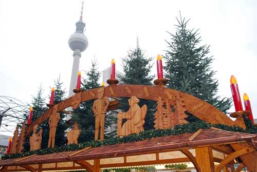 Lichterketten sorgen für weihnachtliche Stimmung | Foto: Bilderrampe.de